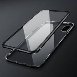 Capinha Magnetica iPhone X/xs-5.8 Vidro Frente E Verso