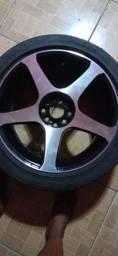 Vendo rodas 17 multi furo de 4,