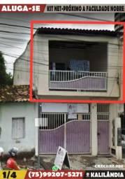Kit Net- 1/4-Ao Lado Da Faculdade Nobre-Feira de Santana-Ba