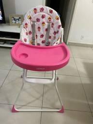 Cadeira de alimentação retrátil