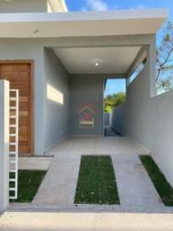 Linda Casa térreo com dois dormitórios,um banheiro social, sala individual,