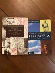 Livros direito + filosofia