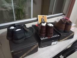 Vendo calçados da democrata novos.