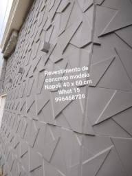 Placas de Concreto mesmo sem misturar gesso a massa para Exteriores ou mesmo interiores