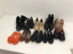 Lote de sapatos para bazar
