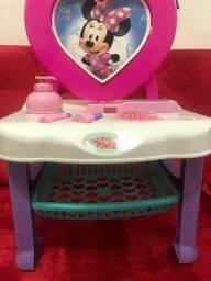 Penteadeira infantil Disney Minnie com acessórios