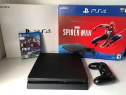 Playstation 4 Slim 1TB Completo com Jogo