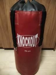 Saco de Boxe - Knockout 70cm comprar usado  São Paulo