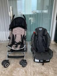 Combo Carrinho de bebê + cadeirinha de carro