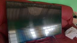 TV smart AOC tela trincada