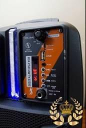 Caixa de Musica Kimiso (QS_2805) amplificadora 2000W Potência e Qualidade!
