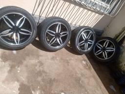 Pra sair rápido!! Vendo 17 com pneus