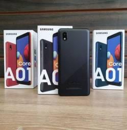 Smartphone Samsung Galaxy A01 - Novo Com Certificado e Garantia