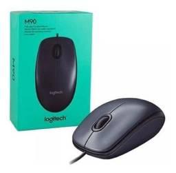 Mouse Logitech M90 Preto Novo com Garantia