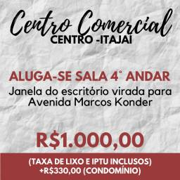 Aluga-se Sala Comercial em Itajaí