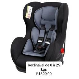 Cadeirinha para carro reclinável de 0 à 25kgs  Nova