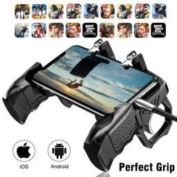 Controle Suporte Joystick Gatilho Para Celular K21