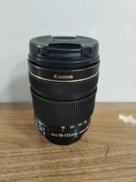 Lente Canon EF-S 18-135m Semi-nova