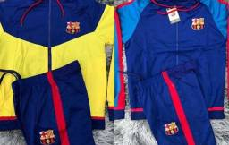 Conjunto Barcelona dupla face