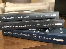 Cinquenta Tons de Cinza (3 livros)