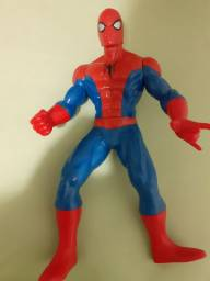 Boneco homem aranha grande fantasia capitão América  e jogo eu sou Marvel