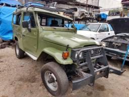Sucata Toyota Bandeirante Ano 1993 Motor Mb 709