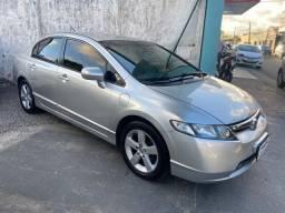 Honda civic lxs, 2008/2008, completão, impecável!!!
