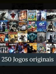 Ps3 libero 250 jogos original + ps2+ psp