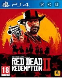 Vendo Red Dead Redemption 2 completo com mapa PS 4