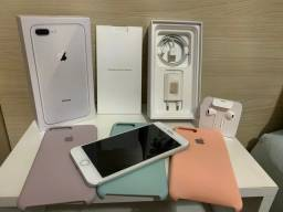 IPhone 8 Plus Silver 64gb - IMPECÁVEL