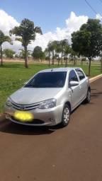 Etios Toyota 1.3 2017 SÓ 33.000