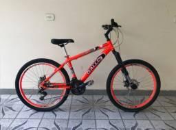 Bicicleta Gallo Suspensão Invertida Nova 0km Padrão Bike Caloi First Vicini