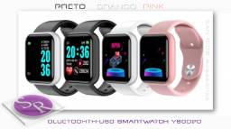 Novo - 1x USB - Bluetooth Smartwatch Relógios inteligentes D20