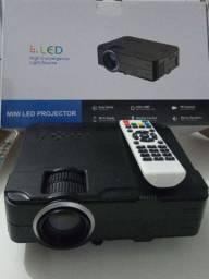 Projetor De Led Rd-812 1080p Full Usb Hdmi Vga Av<br>