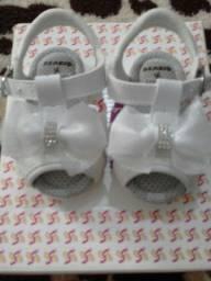 Sandália para Bebê Tamanho 16