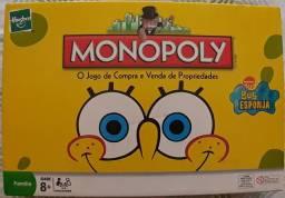 Jogo Monopoly Bob Esponja