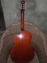violão clássico strinberg elétrico nylon an-90c n