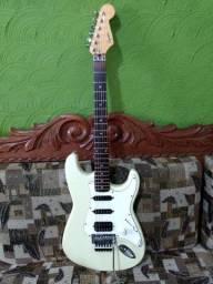 Guitarra Fender Squier Coreana com dimarzio e Seymour Duncan