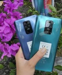 Xiaomi redmi note 9 128gb azul novo lacrado aceitamos cartões