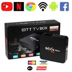 Tv Box para transforma sua tv em Smart.