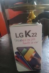 Vendo / Troco LG K22 com duas semanas de uso