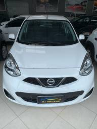 Nissan March S 1.0 2017 Único Dono