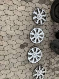 Rodas, pneus e calotas Peugeot 208