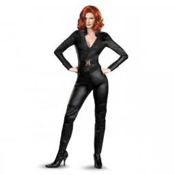 Vendo Fantasias Vingadores Deluxe Adulto Importada - Viúva Negra