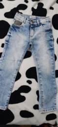 Calça jeans menino 4 anos