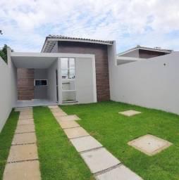 Casa no Eusébio 3 quartos, rua privativa