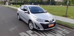 Toyota Yaris XL 1.5 Sedã - 2018/2019 - Flex / automático - Único Dono