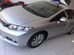 Honda Civic LXR 2.0 2014 Prata Novissimo