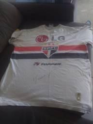 Camisa São Paulo original (autografada)