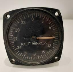 Instrumento avião - Radio Bussola